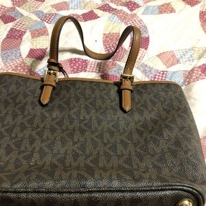 Percent condition Michael Kors purse